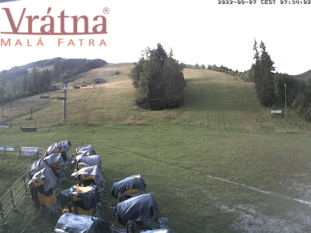 Webcam: Vratna - Paseky